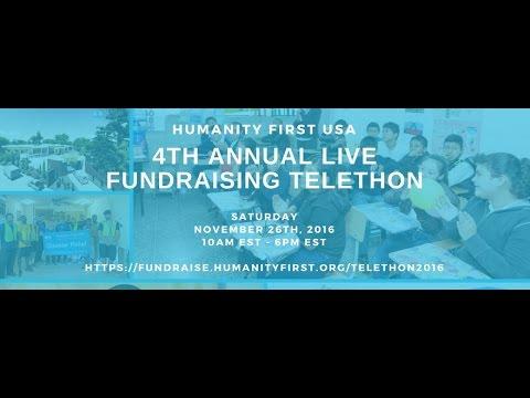 Humanity First USA Telethon 2016