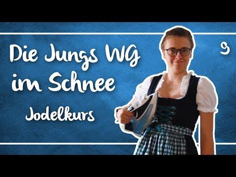 Jodelkurs bei der JUNGS WG im SCHNEE |9| Annikazion