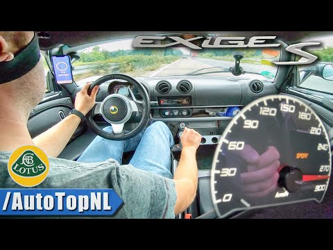 460HP LOTUS Exige S 3.5 V6 Supercharged 280km/h AUTOBAHN by AutoTopNL