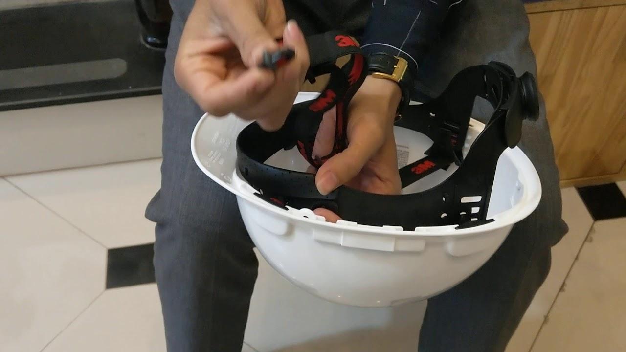 Cách Lắp Mũ Bảo Hộ 3M H701V