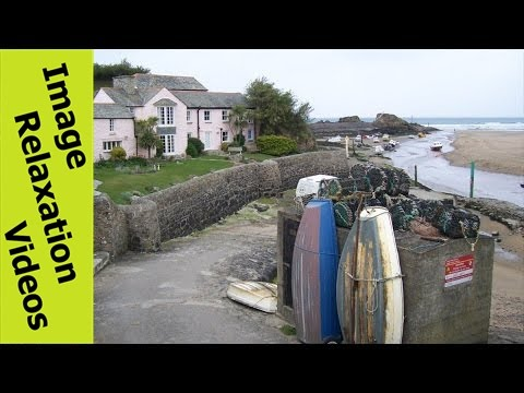 Bude Coastal & Canal Walk - Nature Pictures with Relaxing Music, Cornwall, England, UK