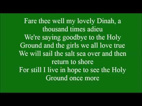 Holy Ground with lyrics
