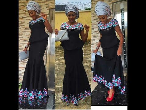 Aso Ebi Styles 100 Lovely Ankara And Lace Styles To Rock