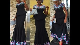 Aso Ebi Styles : 100 Lovely Ankara and Lace Styles To Rock any Event This Year