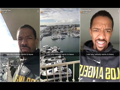 Channing Frye is loving life in Los Angeles, but he doesn't know what to eat