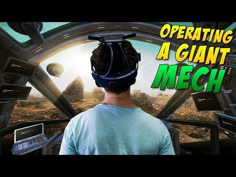 THIS VR MECH SIMULATOR IS INSANE! | Vox Machinae VR Gameplay - HTC Vive
