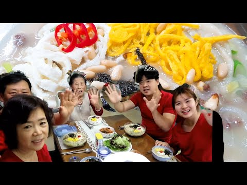 Cô dâu Việt nấu ăn buổi sáng Canh Bánh Gạo(떡국) cho gia đình-Cuộc sống Hàn Quốc 🇰🇷260