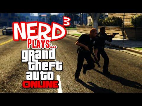 Nerd³ Plays... GTA Online... As a Journalist!