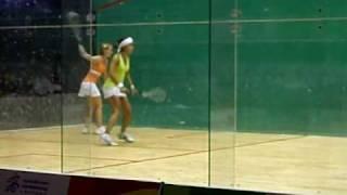 2009 World Games 7 24 Squash 壁球Nicol David VS Natalie Grinham 冠亞軍2