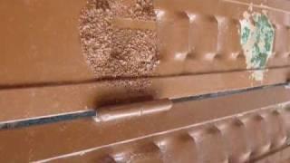 Décapage peinture sur métal