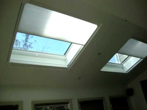 Skylight Shades Skyrise Remote Control By Hunter Douglas