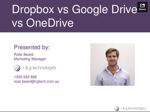File Sharing Tools: Dropbox vs Google Drive vs OneDrive