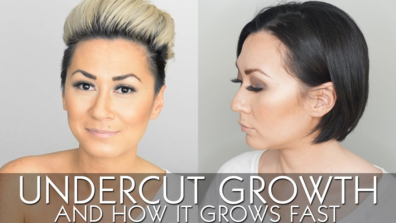 My Undercut Growth And How It Grows Fast Youtube