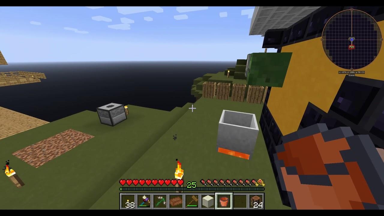 Agrarian Skies 2 Ep 3 Cobblestone Generator Youtube