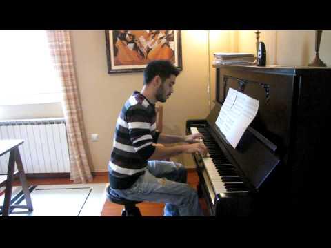 Manos Hadjidakis - Kemal (Χατζιδάκις - Κεμαλ) (Antonis Papakonstantinou) (Piano)