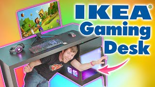 Ultimate Ikea Gaming Desk Linus Tech Tips