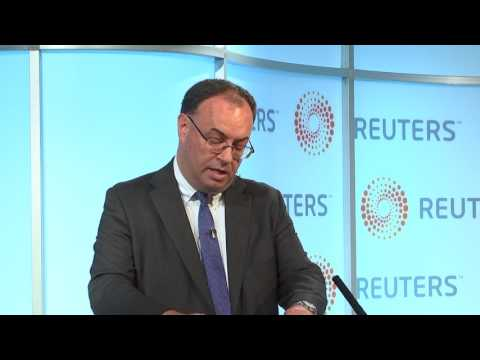 Reuters Newsmaker with Andrew Bailey, Financial Conduct Auth