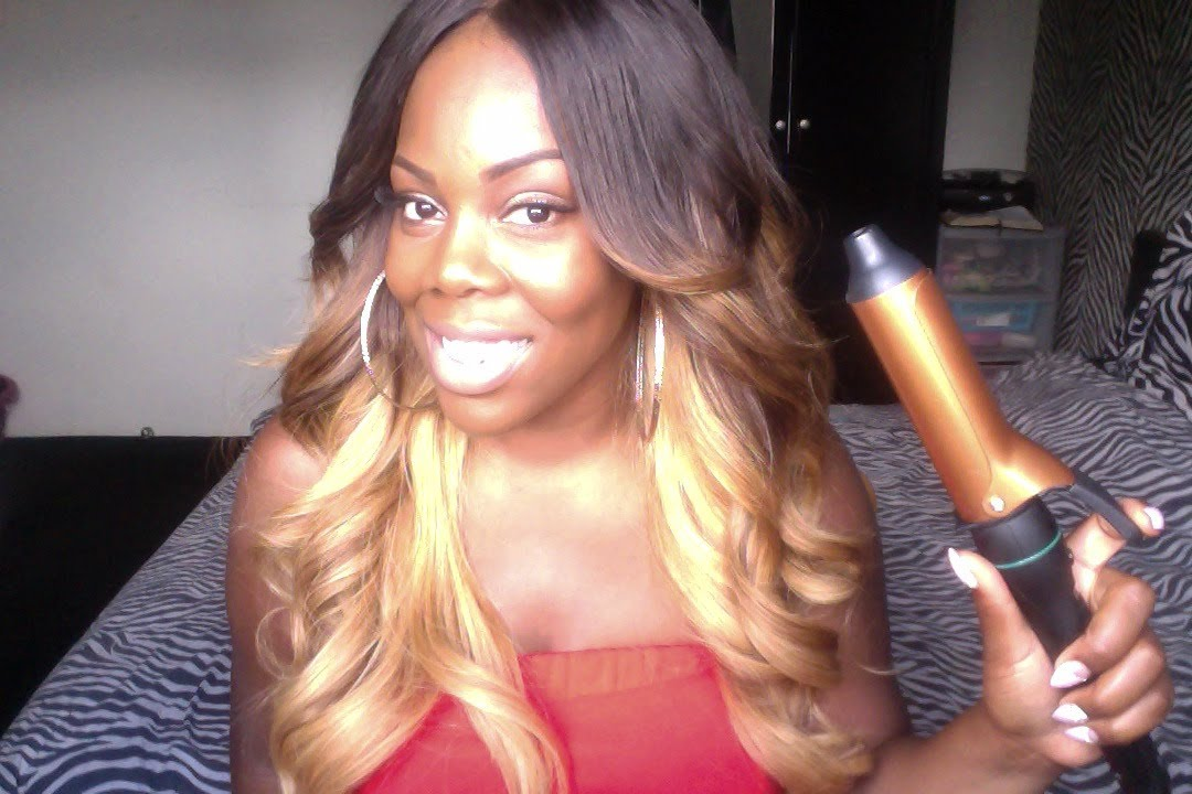 How To Get Volume Curls Big Barrel Curling Tong Tutorial