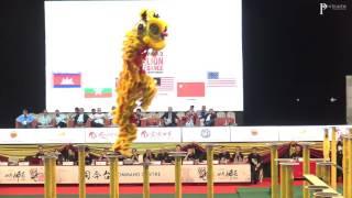 第十二界雲頂世界獅王爭霸賽 - 中華台北龍獅運動總會C隊-盛祥門龍獅戰鼓團(不予评分)