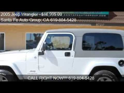2005 jeep wrangler unlimited for sale in san diego ca. Black Bedroom Furniture Sets. Home Design Ideas
