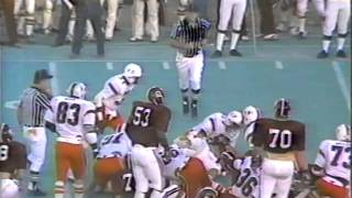 Miami vs. Alabama football 1979