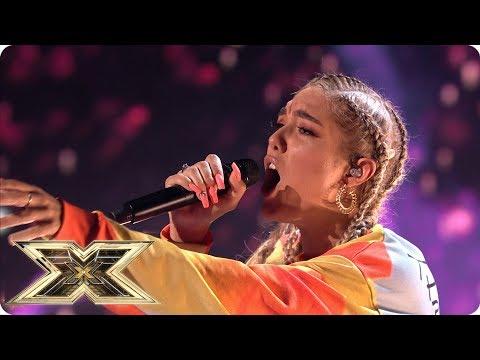 Bella Penfold sings Emeli Sande's Beneath Your Beautiful  | Live Shows Week 1 | The X Factor UK 2018