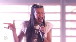 Courtney Hadwin: Teenager With Insane Voice Sings 'Born to Be Wild' By Steppenwolf