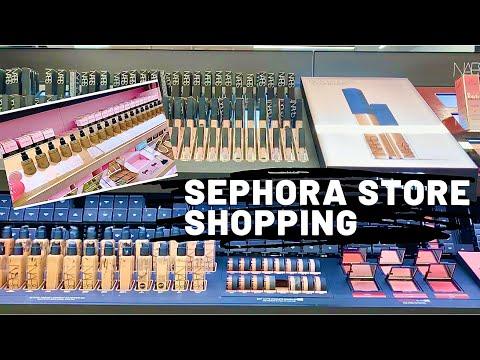 SEPHORA Makeup Store Walkthrough   Boxing Day Sale Shop With Me  Canada Vlog  Shopping Vlog