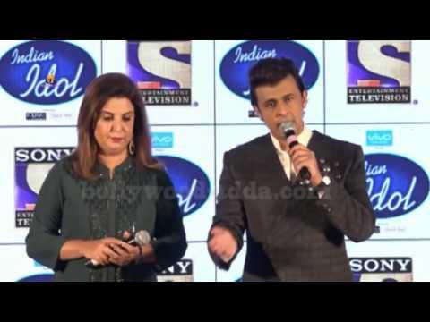(VIDEO) : Indian Idol New Season 9   Anu Malik, Sonu Nigam, Farah Khan   Press Conference