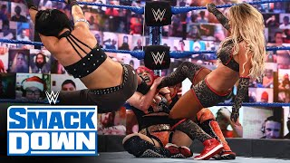 WWE Women's Tag Team Title Triple Threat Elimination Match: SmackDown, Dec. 25, 2020