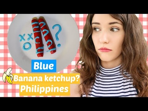 5 UNIQUE FOOD FROM THE PHILIPPINES - Blue banana ketchup?