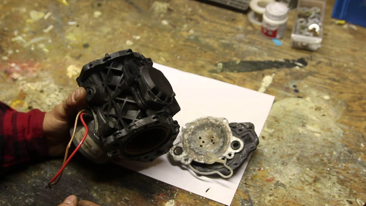 Failed Vacuum Pump Ford F150 2011 Ecoboost Youtube