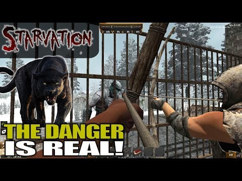 THE DANGER IS REAL! | Starvation MOD 7 Days to Die | Let's Play Gameplay Alpha 16 | S03E01