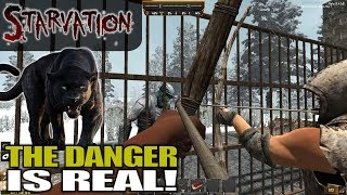 THE DANGER IS REAL Starvation MOD 7 Days To Die Let S Play Gameplay Alpha 16 S03E01