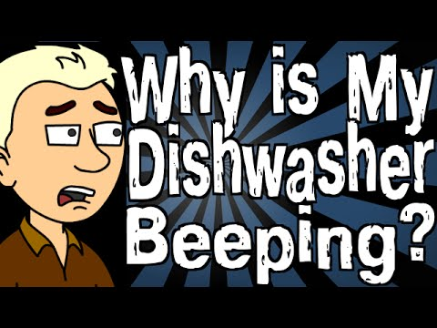 Why Is My Dishwasher Beeping?