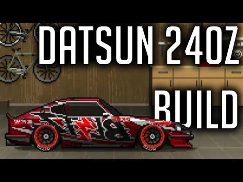 Pixel Car Racer | Blitz Datsun 240z Build | - YouTube