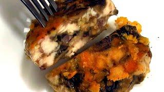 Вкусный рецепт котлет из индейки с грибами и сыром | Turkey Burgers With Mushrooms And Cheese