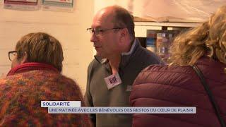 Yvelines | Une matinée avec les bénévoles du resto du coeur de Plaisir
