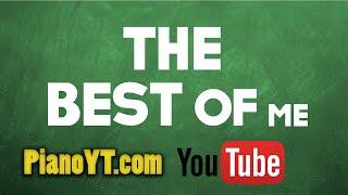 The best of me - Bryan Adams Piano Tutorial - PianoYT.com