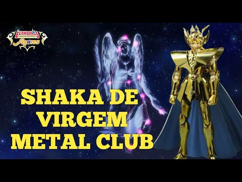 #26 CDZ - Cloth Myth Shaka EX Metal Club- Montagem/Comparação Die-Cast/1.0/Ex Bandai - PT-BR