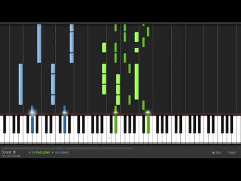 You Found Me Piano Tutorial The Fray Youtube