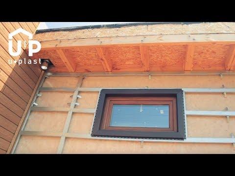 Инструкция по обрамлению окна без отлива
