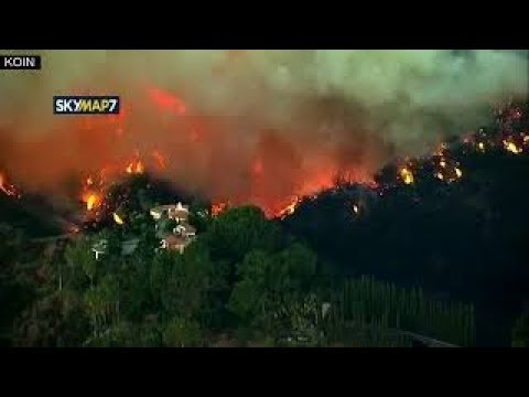 A new wildfire in Southern California  Thursday, 7 December 2017