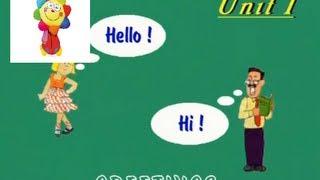 Приветствия на английском. Английский язык для детей. Серия 1. Урок 1.