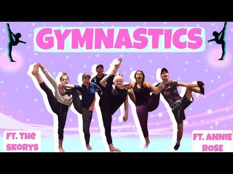 Teaching The Skorys Gymnastics!