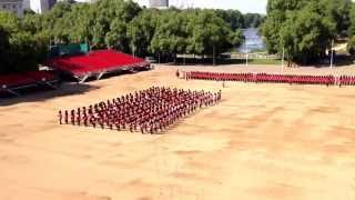 Trooping the Colour Rehearsal 19th May 2014