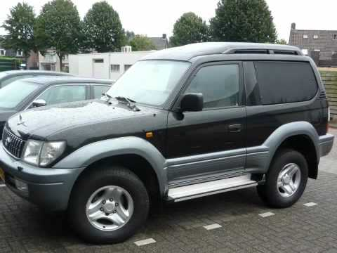 toyota land cruiser 90 van 3 0 td youtube. Black Bedroom Furniture Sets. Home Design Ideas