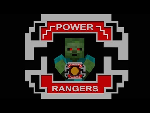 Monster School: Crafting Power Rangers - Minecraft Animation