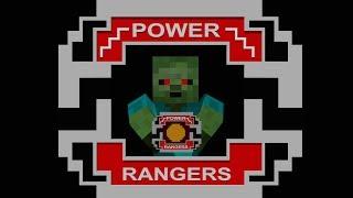 Monster School: Crafting Power Rangers - Minecraft Animation