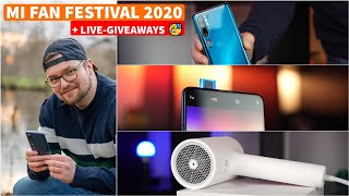 Xiaomi Mi Fan Festival 2020 + Giveaways (live) | CH3 Livestream Deutsch
